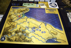 Frontline General: Italian Campaign Introduction Deluxe Vinyl Map